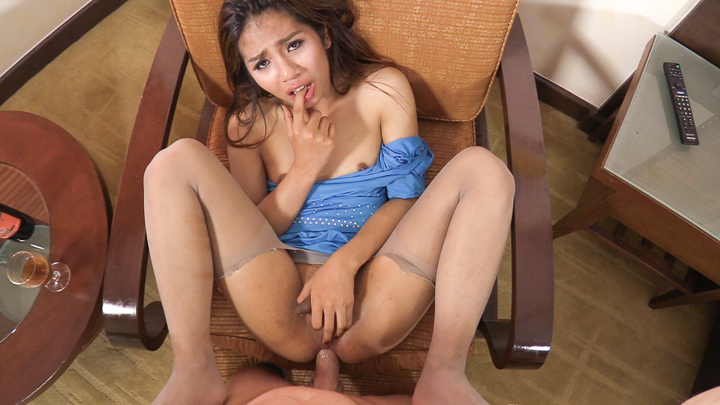 Ladyboy Aris Hardcore Ass Spread